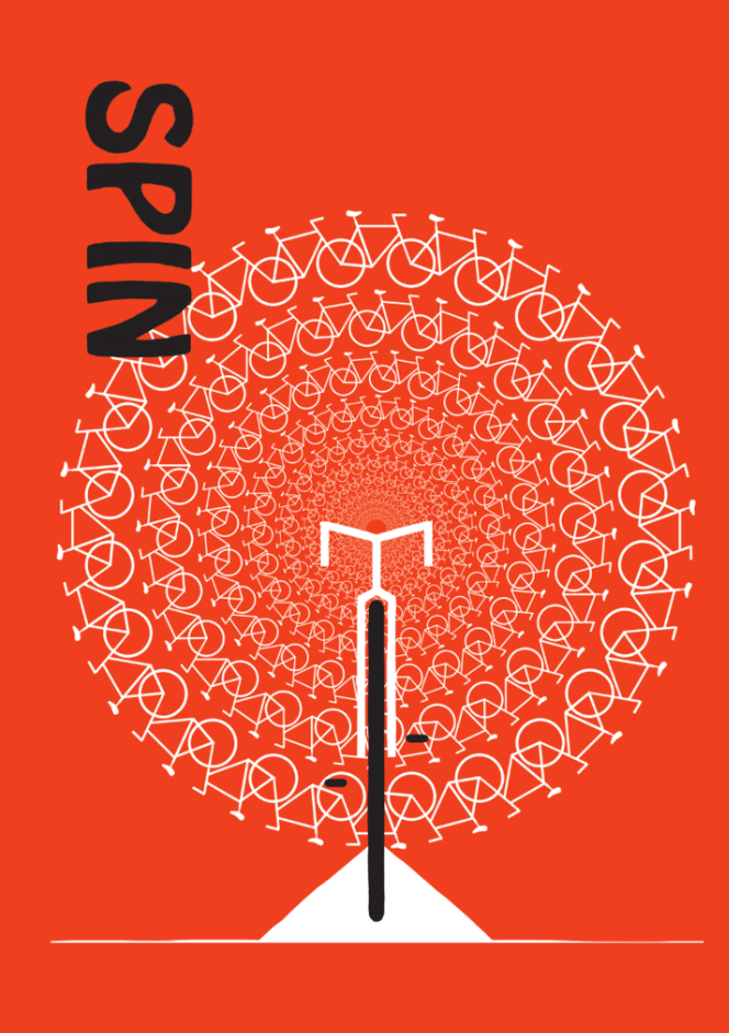 SPIN poster by LOGCB