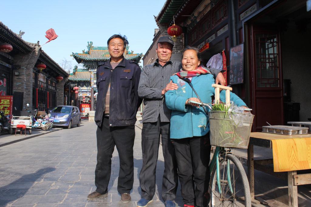 Bike street scene, Pingyao-5